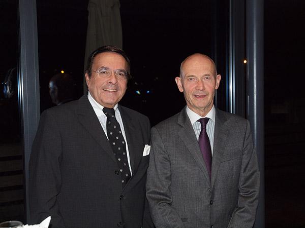 Mario Ohoven und WTO Generaldirektor Pascal Lamy.