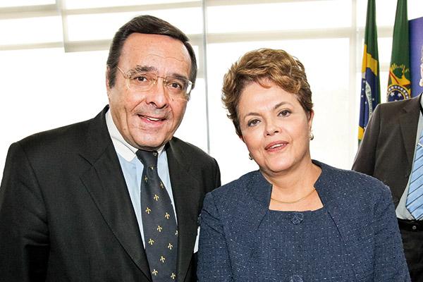 Mario Ohoven und Dilma Rousseff