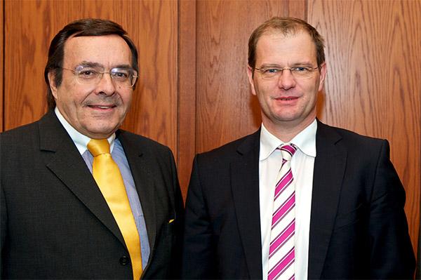 Bundesministerium für Wirtschaft und Technologie, Berlin: Staatssekretär Stefan Kapferer.