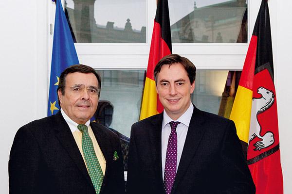Niedersächsische Staatskanzlei Hannover: Ministerpräsident David McAllister.