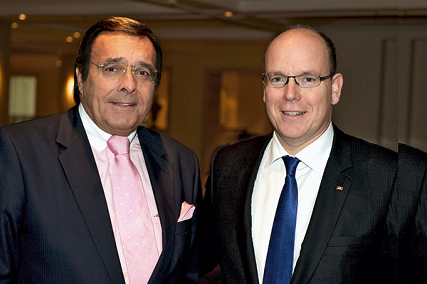 Mario Ohoven und Fürst Albert II. von Monaco.